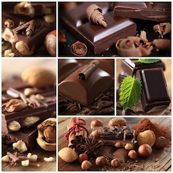 Schokolade - Collage